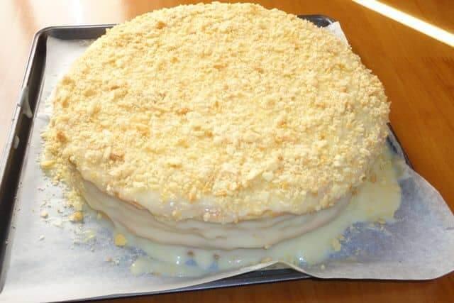 Торт Белый Наполеон