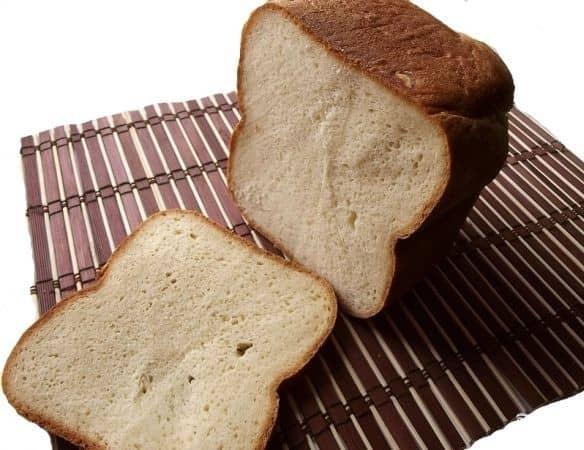 Картофельный молочный хлебец