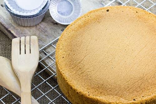Приготовление бисквитного теста с подогревом