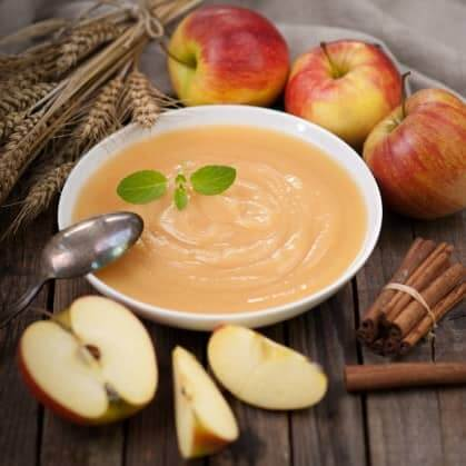 Как сделать яблочный крем