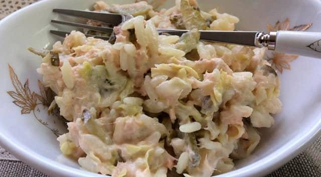 Как сделать рыбный салат