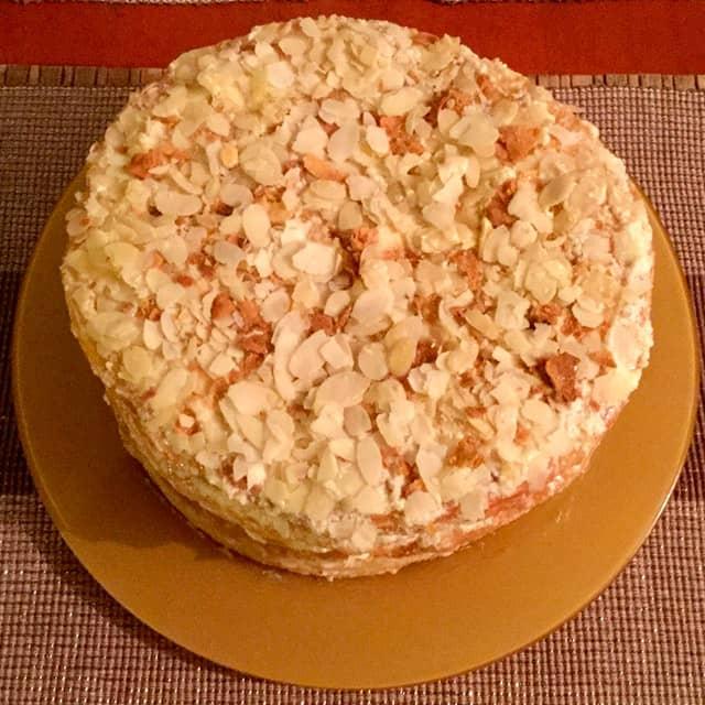 Торт кремеш