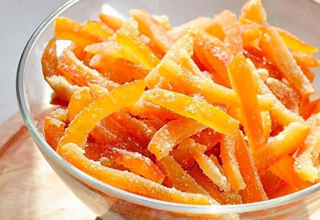 Апельсиновая кожура в сахаре