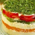 Как сделать овощной торт