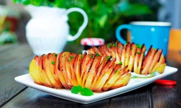 Как готовить картошку гармошку