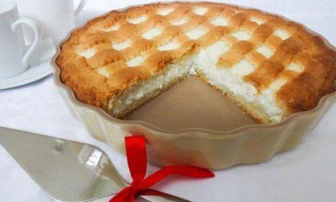 Рецепт приготовления пирога с творогом