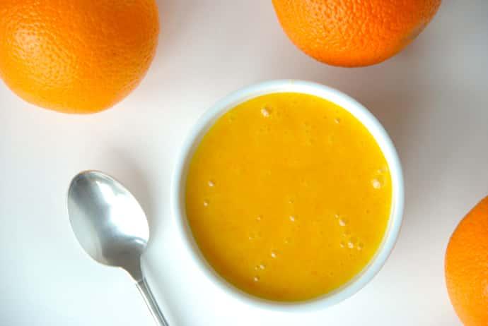 Вкусный апельсиновый крем
