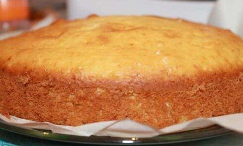 Пирог на сухом молоке