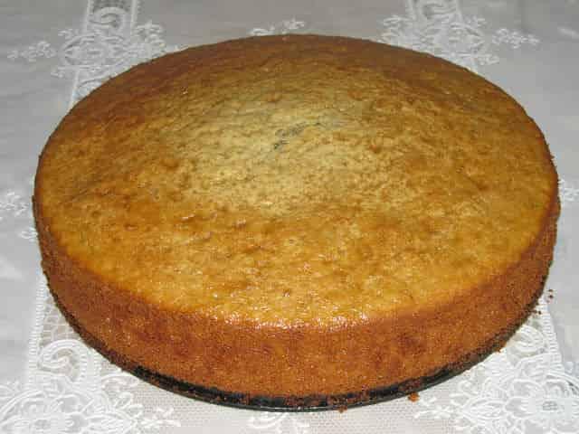 Самый простейший рецепт бисквита