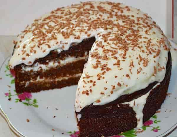 Торт Негр в пене - пошаговый рецепт