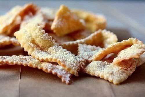 Домашнее хрустящее печенье «Хворост»