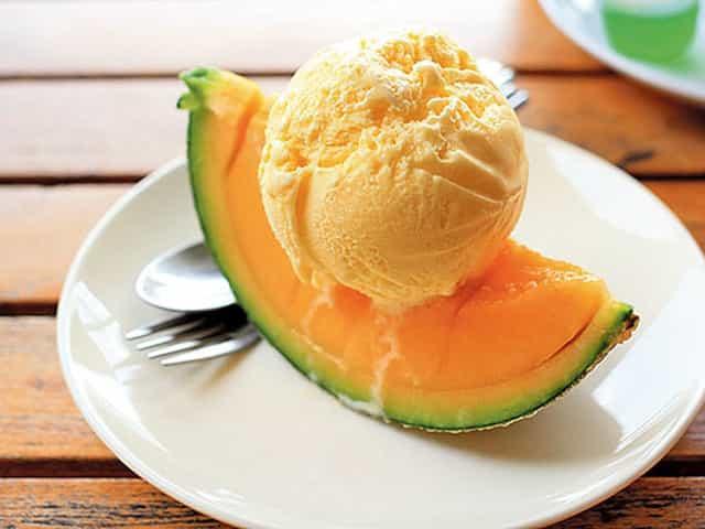 Мороженое из дыни