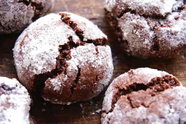 Шоколадное печенье к чаю