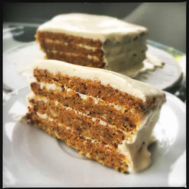 Вкусный ореховый торт