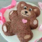 Вкусный торт мишка